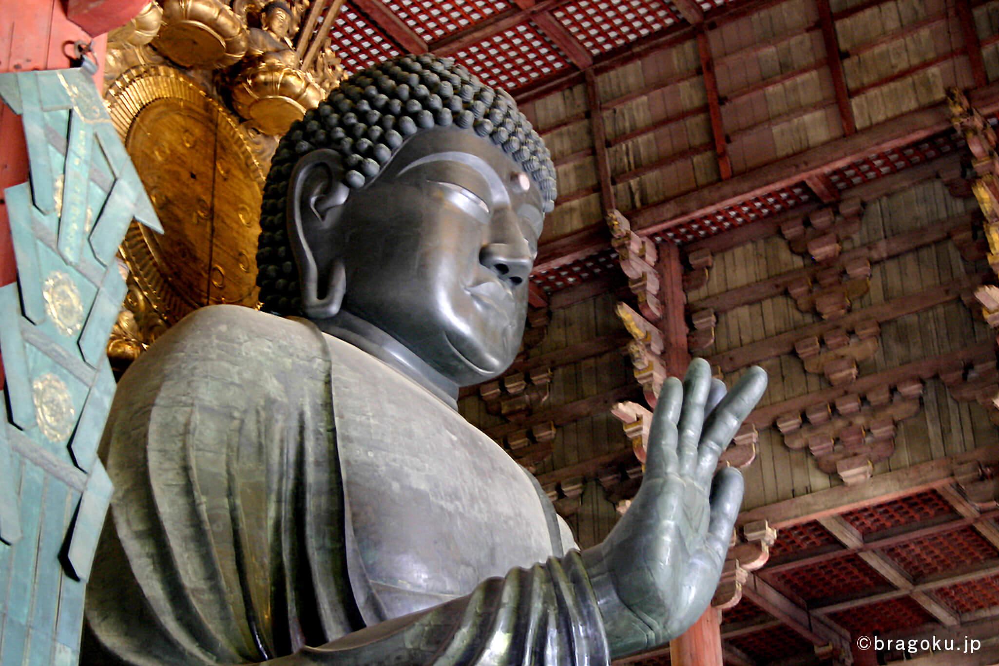 ブランド創出の極意(ブラゴク)の『作る』カテゴリの記事 How to クラウドファンディング内、国内のクラウドファンディング最古の例、奈良の大仏の見本画像